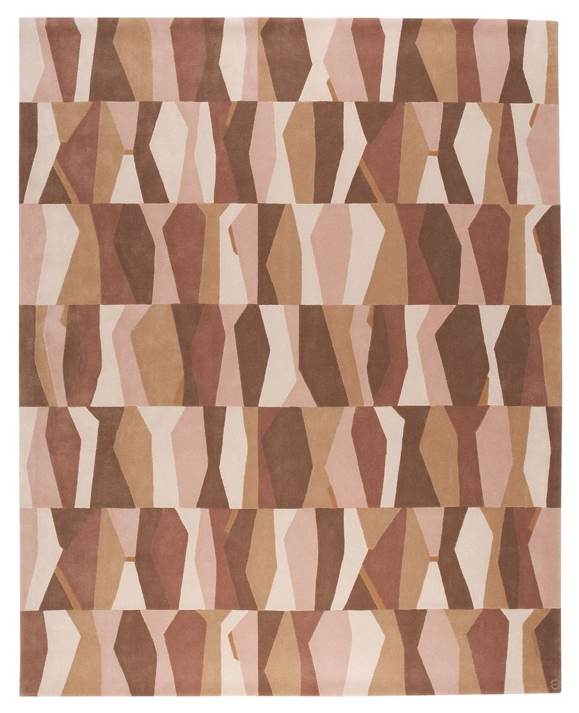 Jazz angela adams modern area rugs handcrafted Angela adams rugs