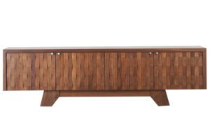 Timber Sea Chest Sidecase Sea Bird foam luxury sustainable handcrafted made in america maine furniture custom angela adams sideboard sidecase buffet