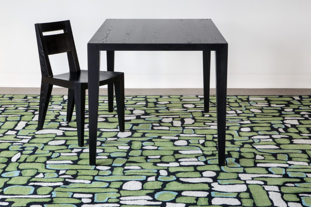Tula Chair Pyrite Emerald Tula Dining Table
