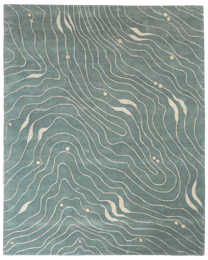 Waves Area Rug Angela Adams Designer Luxury Handmade Rugs