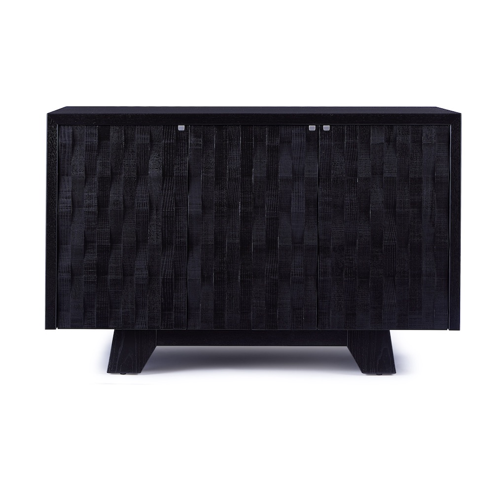 Timber Sideboard Ebonized Ash_front