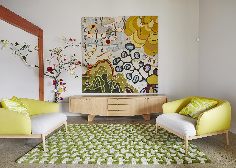 Rain Tapestry Rug By Angela Adams