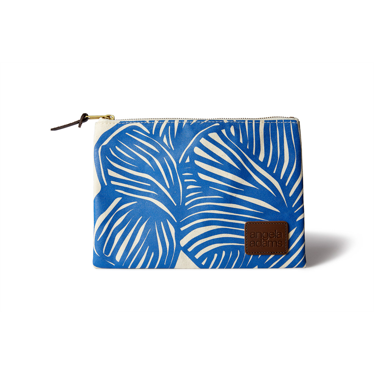angela adams zip pouch accessory lily