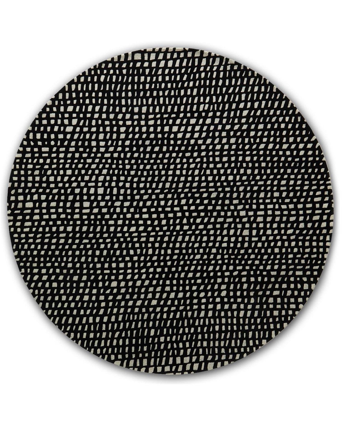 angela adams Fish Net Black Bass contemporary modern rug